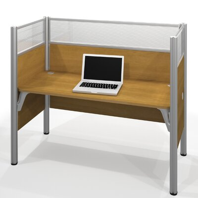 Bestar Pro-Biz Simple Workstation with 6 Privacy Panels