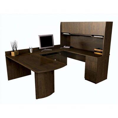 Bestar Executive U-Shape Desk Office Suite