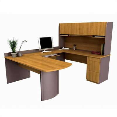 Bestar Executive U-Shape Desk Office Suite