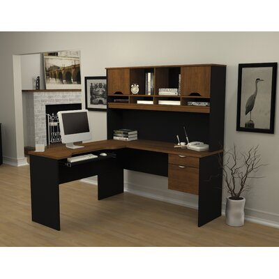 Bestar Innova L-Shaped Desk Office Suite