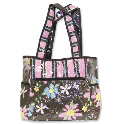 Trend Lab Blossoms Tulip Diaper Tote Bag