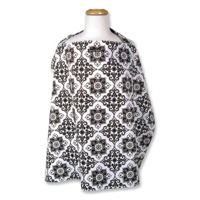 Trend Lab Versailles Black Nursing Cover
