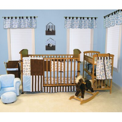 Trend Lab Blueberry 4 Piece Crib Bedding Set