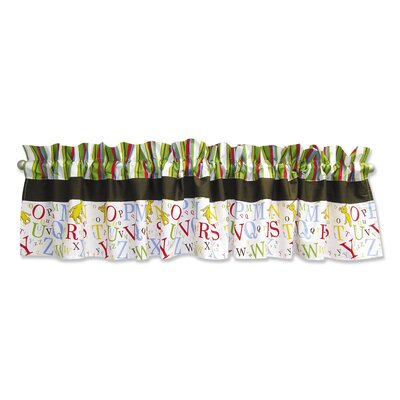Trend Lab Dr. Seuss ABC Cotton Curtain Valance