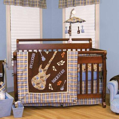 Trend Lab Rockstar 4 Piece Crib Bedding Set