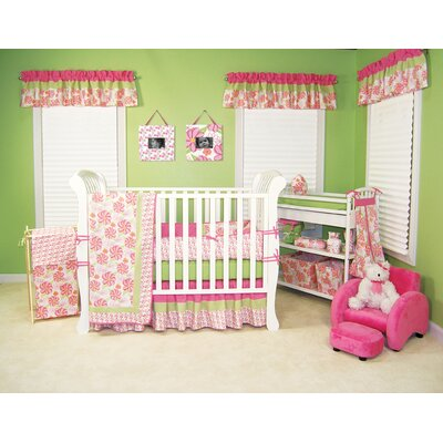 Trend Lab Hula Baby Four Piece Crib Bedding Set