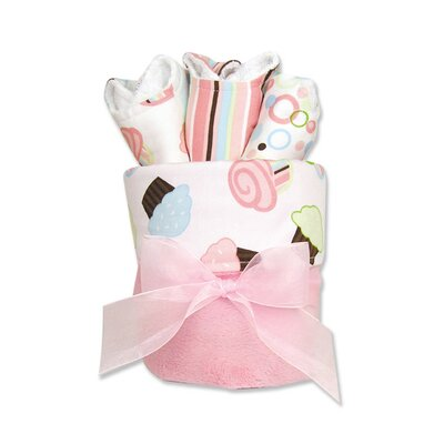 Trend Lab Cupcake Blanket Gift Cake