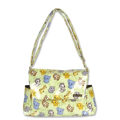 Trend Lab Chibi Zoo Messenger Diaper Bag
