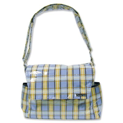 Trend Lab Rockstar Messenger Diaper Bag