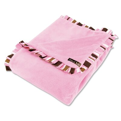 Trend Lab Maya Velour Baby Blanket