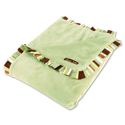 Trend Lab Giggles Velour Baby Blanket