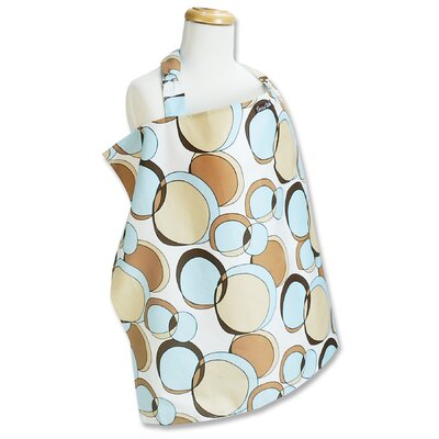 Trend Lab Bubbles Teal Nursing Cover