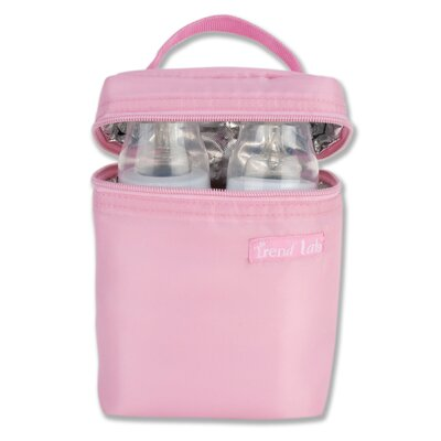 Trend Lab Bottle Bag in Pink