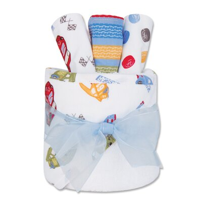 Trend Lab NASCAR Gift Cake Hooded Towel