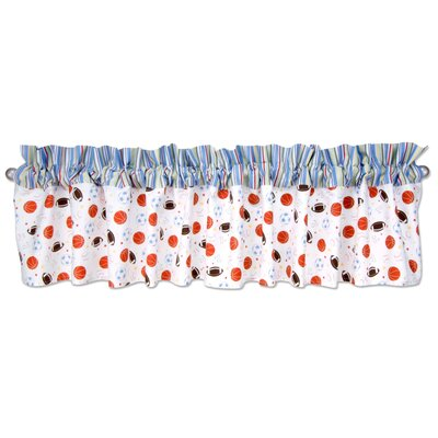Trend Lab Little MVP Cotton Curtain Valance