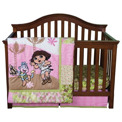 Trend Lab Nickelodeon Dora the Explorer Crib Bedding Collection