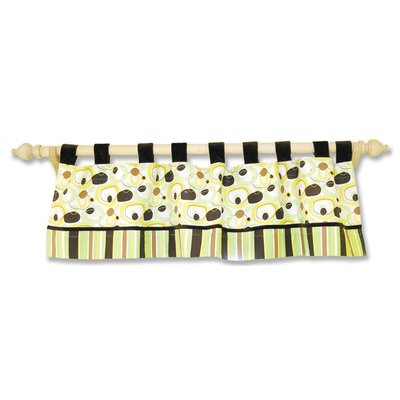 """Trend Lab Giggles 53"""" Curtain Valance"""