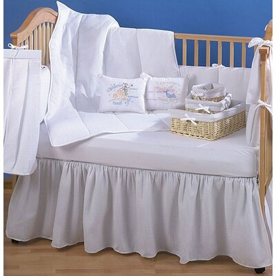 Pique 4 Piece Crib Bedding Set
