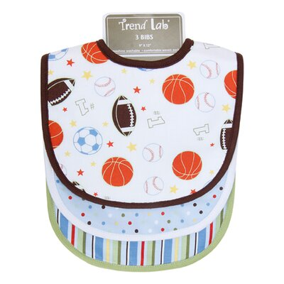 Trend Lab Little MVP Bib (Set of 3)