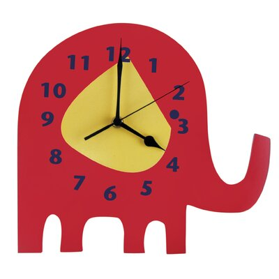 Trend Lab Elephant Parade Wall Clock