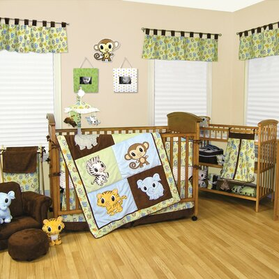 Chibi Zoo Crib Bedding Collection