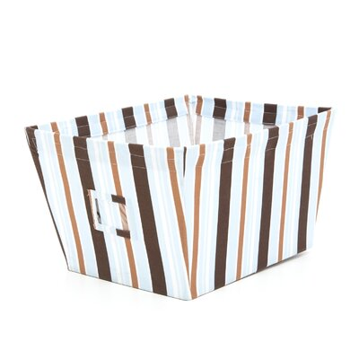 Max Large Fabric Storage Bin in Stripes