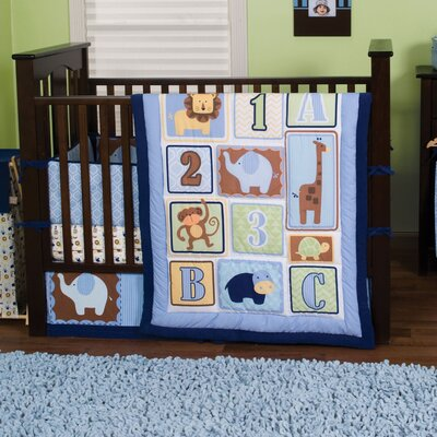 Jungle 123 Crib Bedding Collection