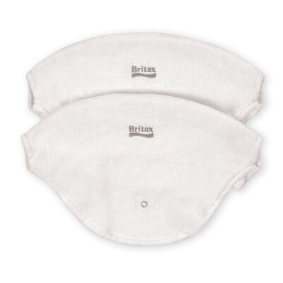 Britax Baby Carrier Bib Two Pack Set in White