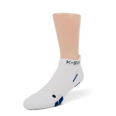 K Swiss Unisex Low-Cut/Heel Tab Training Socks 2-Pack
