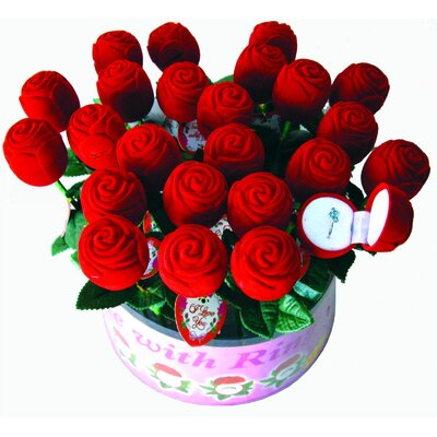Creative Motion Rose with Ring (Set of 24)