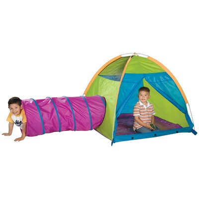 Pacific Play Tents Play with Me Play Tent and Tunnel Combination