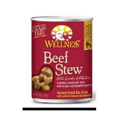 Beef Stew with Carrots and Potatoes Wet Dog Food (13.2-oz, case of 12)