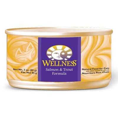 Wellness Salmon and Trout Formula Canned Cat Food