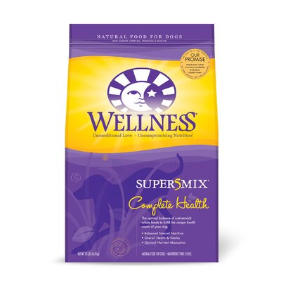 Super5Mix Complete Health Chicken Recipe Dry Dog Food (15-lb Bag)