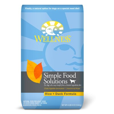 Simple Solutions Rice and Duck Formula Dry Dog Food