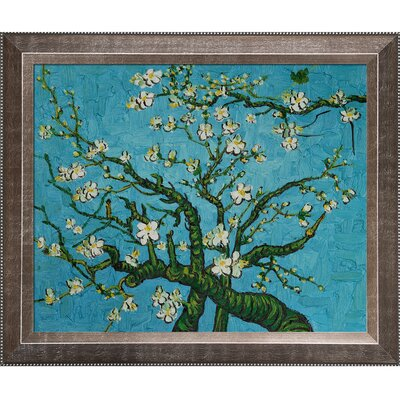 Tori Home Branches of an Almond Tree in Blossom by Van Gogh Framed Original Painting ...
