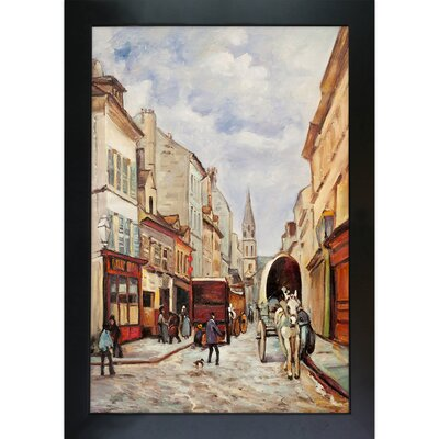 Tori Home La Grand Rue, Argenteuil Sisley Framed Original Painting