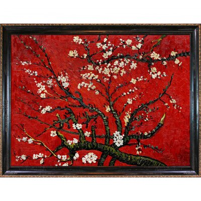 Tori Home Branches of an Almond Tree in Blossom Canvas Art by Vincent Van Gogh Impressionism