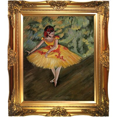 Tori Home Degas Dancer Making Points Canvas Art