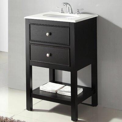"""Simpli Home Wilmington 21"""" Single Bathroom Vanity Set ..."""