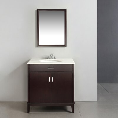 "Simpli Home Urban Loft 30"" Bathroom Vanity Set"