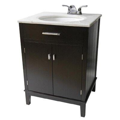 "Simpli Home Urban Loft 24"" Bathroom Vanity Set"