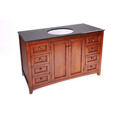 Simpli Home Yorkville 48quot; Bathroom Vanity Set