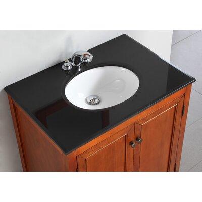 "Simpli Home Yorkville 30"" Bathroom Vanity Set"