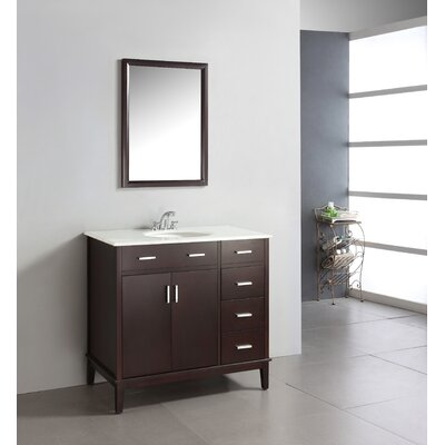 "Simpli Home 36"" Urban Loft Bathroom Vanity"