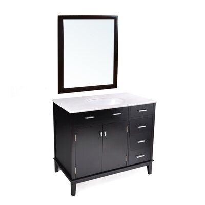 "Simpli Home Urban Loft 36"" Bathroom Vanity Set"