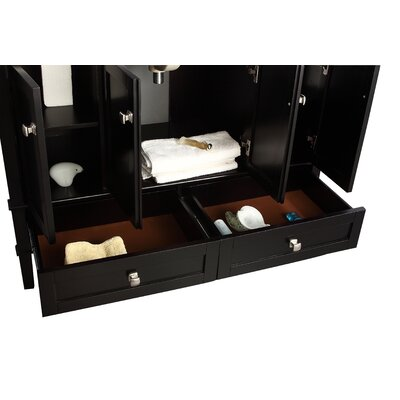 "Simpli Home Chelsea 48"" Single Bathroom Vanity Set"