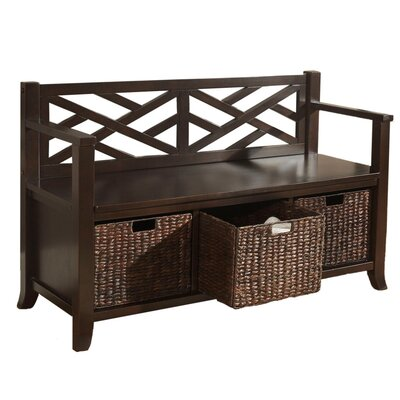 Simpli Home Adrien Entryway Bench