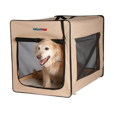Great Paw Chateau Soft Pet Crate