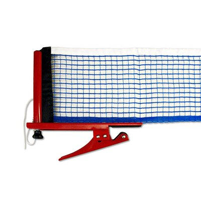 Killerspin Table Tennis Clip - on Net and Post Set